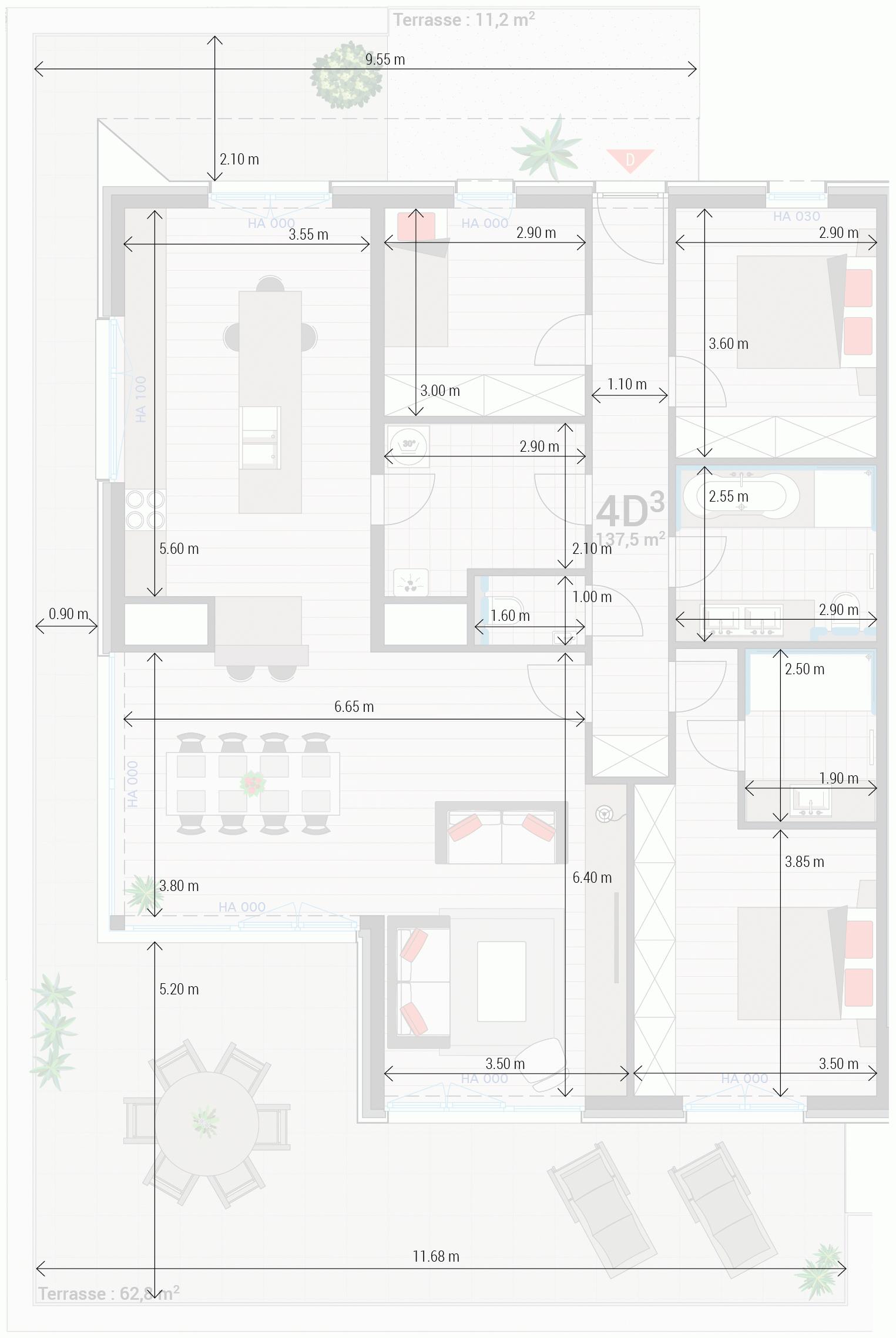 Appartement 4D