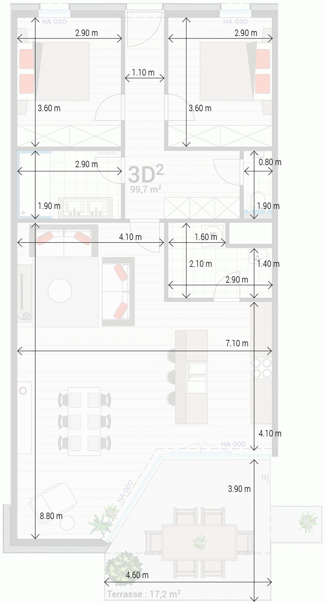 Appartement 3D