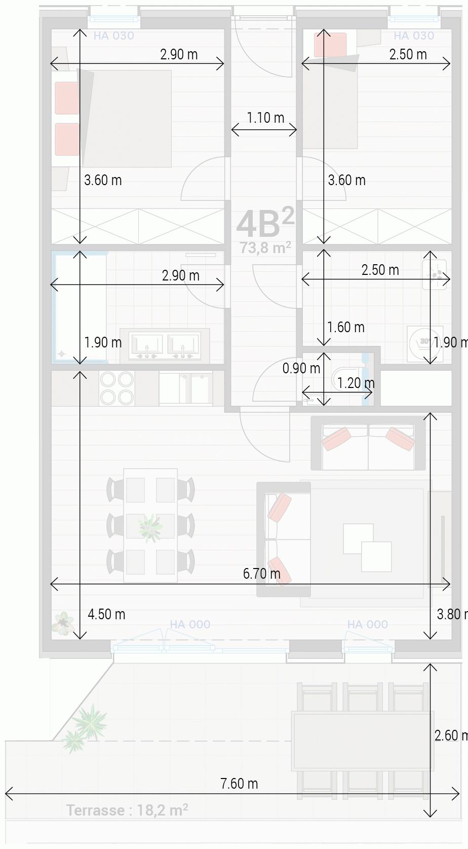 Appartement 4B