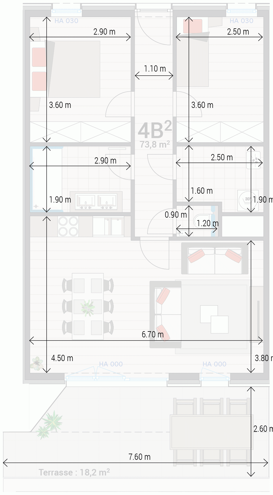 Wohnung 4B