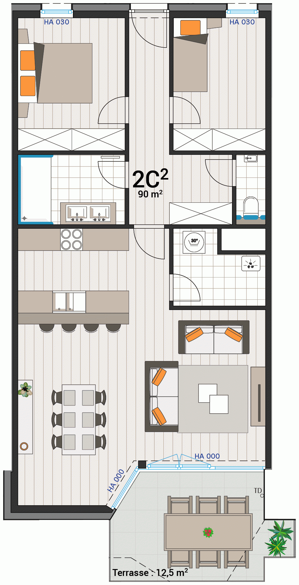 Appartement 2C
