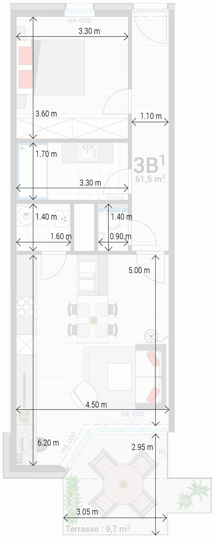 Appartement 3B