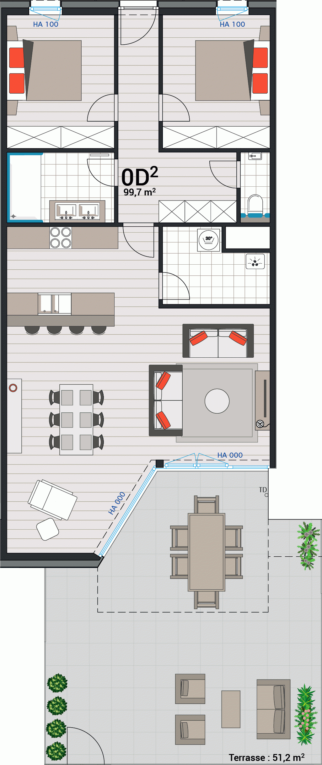 Appartement 0D