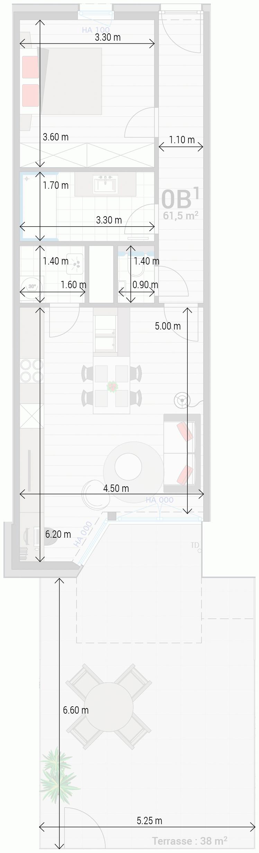 Wohnung 0B